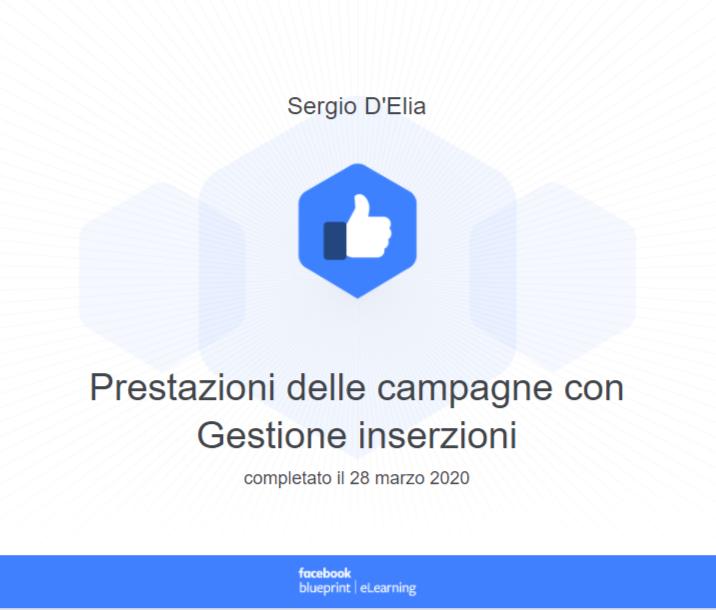 Prestazione delle campagne Facebook